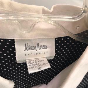 Neiman Marcus Tops - Neiman Marcus 100% Silk Button Down Size 10